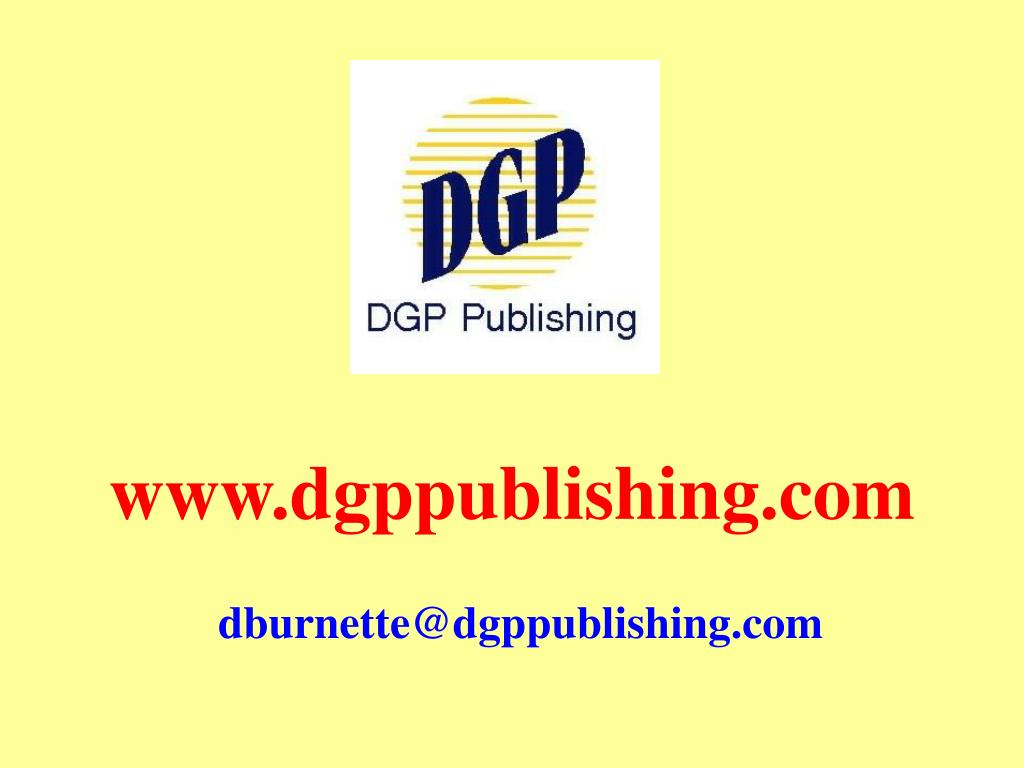 www.dgppublishing.com