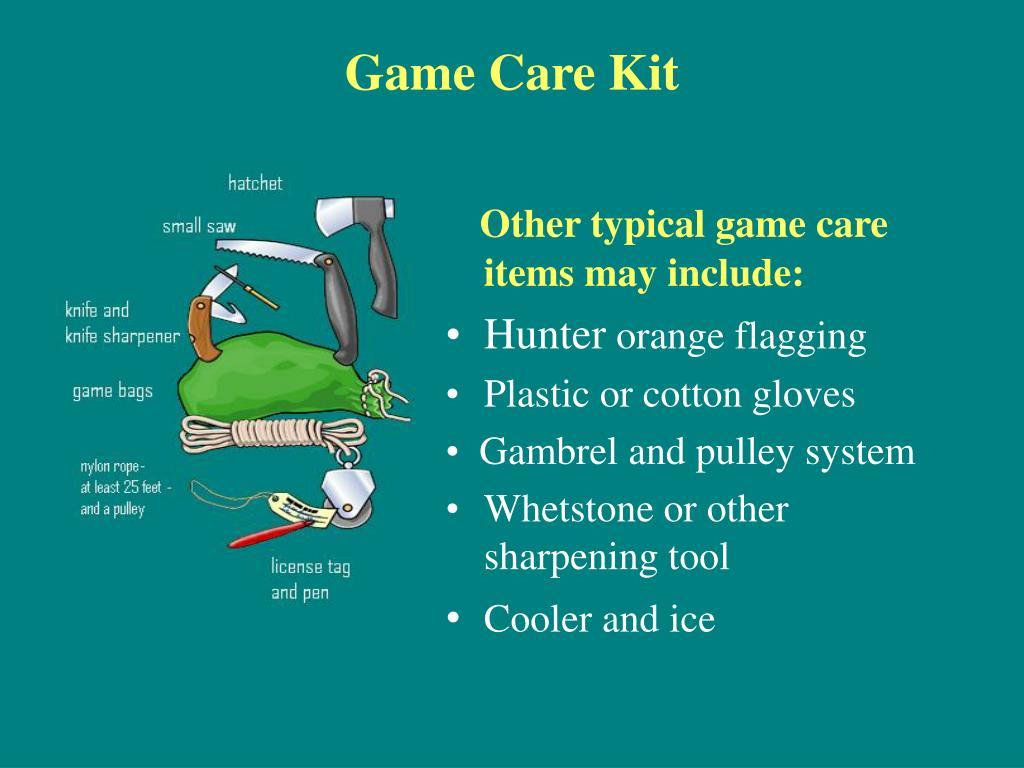 Game Care Kit