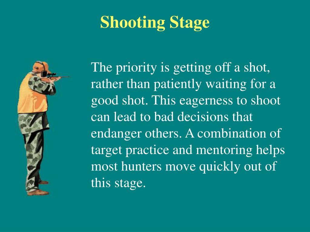 Shooting Stage
