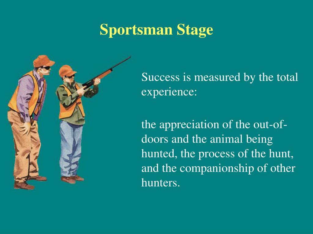 Sportsman Stage
