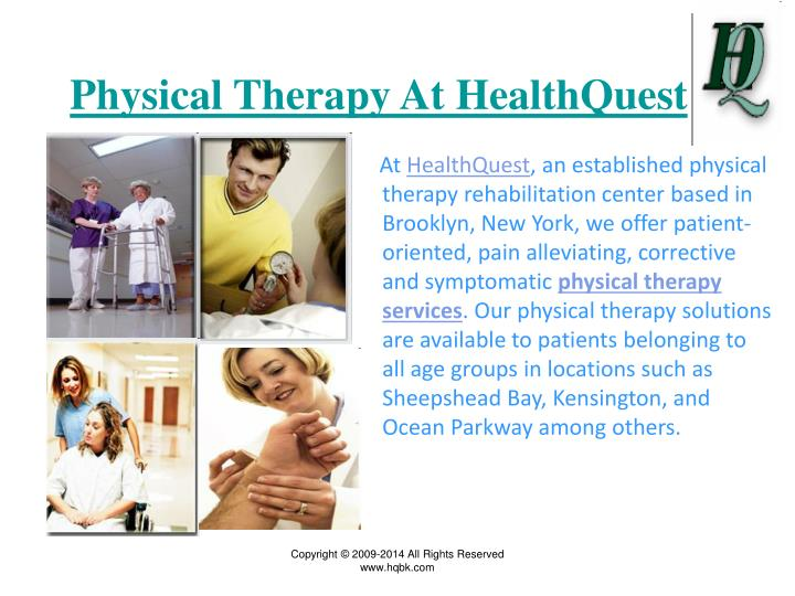 Physical Therapy At HealthQuest