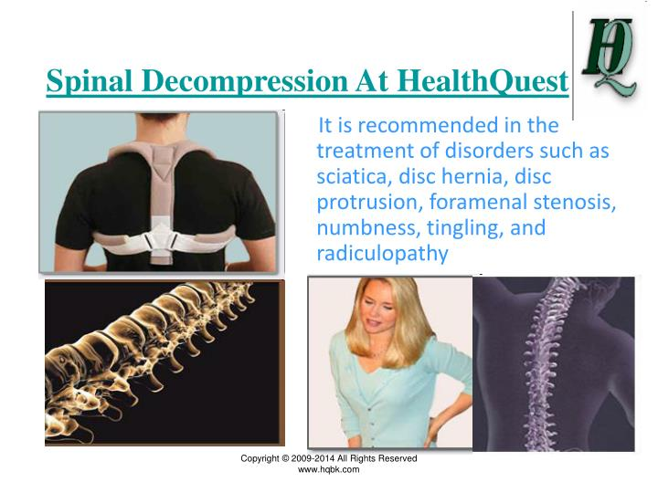 Spinal Decompression At HealthQuest