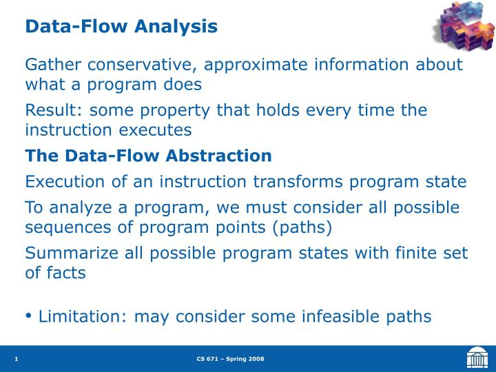 Data-Flow Analysis
