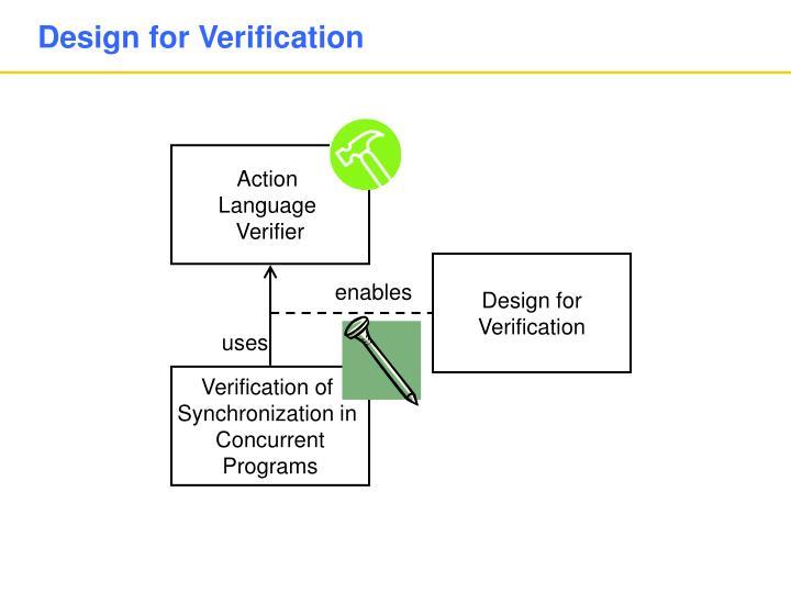 Design for Verification