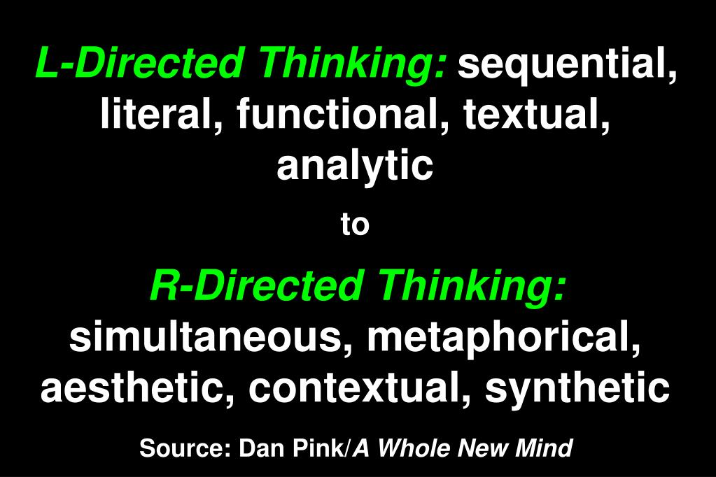L-Directed Thinking: