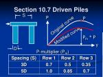section 10 7 driven piles24