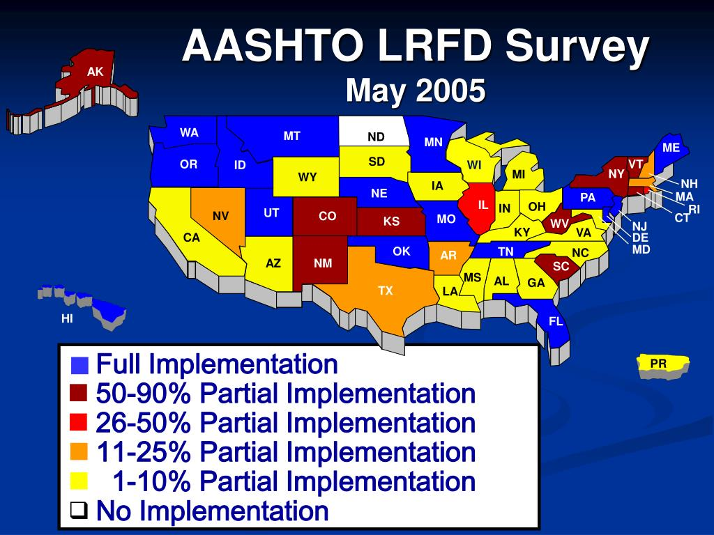 AASHTO LRFD Survey