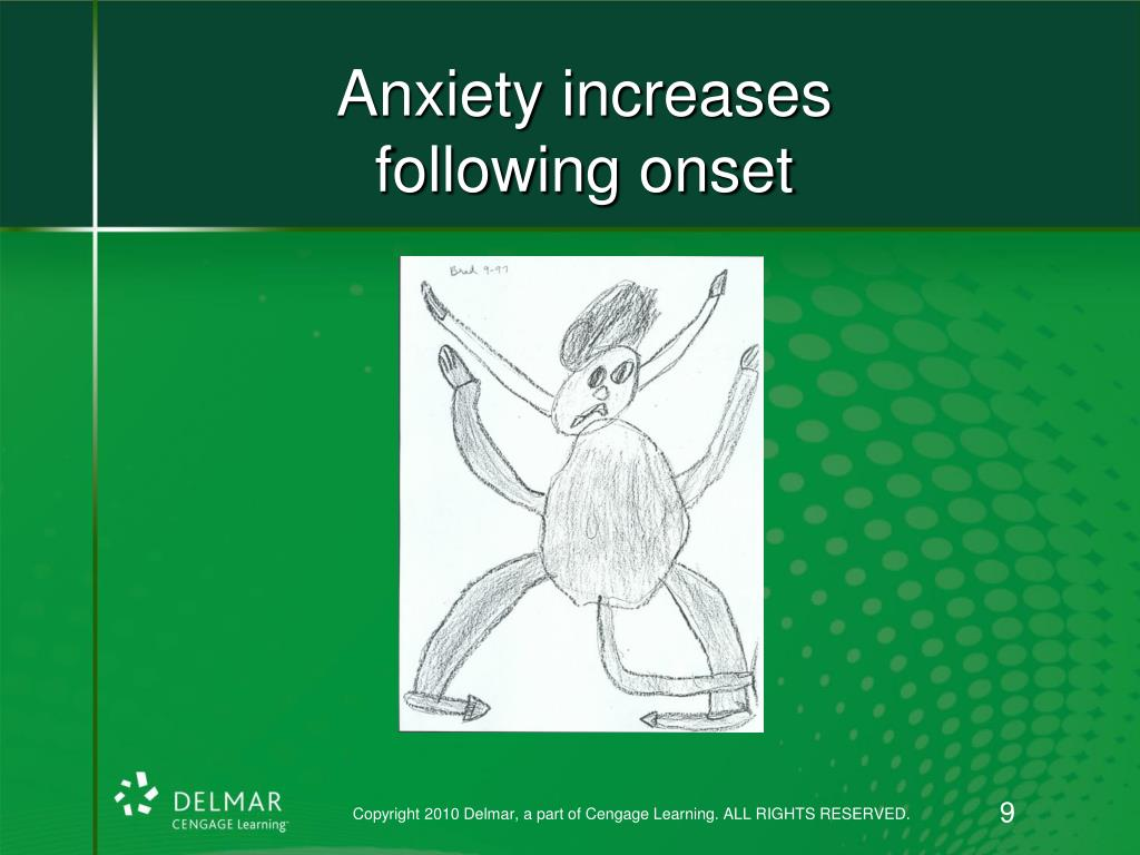 Anxiety increases