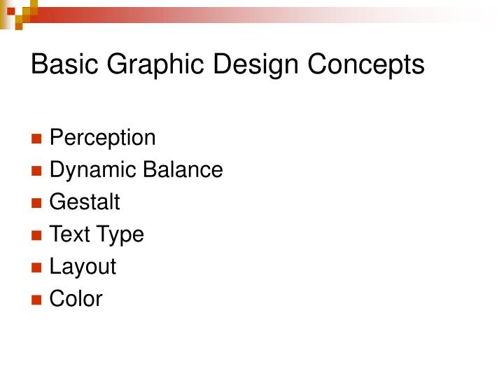 Basic Graphic Design Concepts