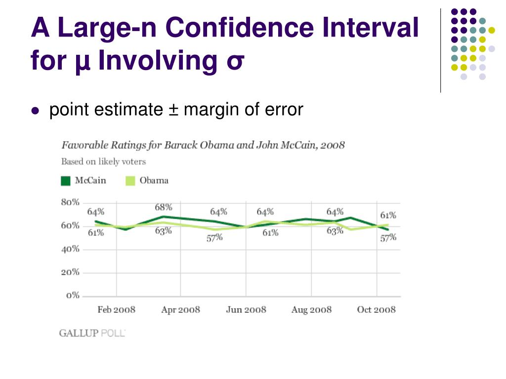 A Large-n Confidence Interval for