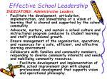 effective school leadership11