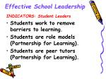 effective school leadership13