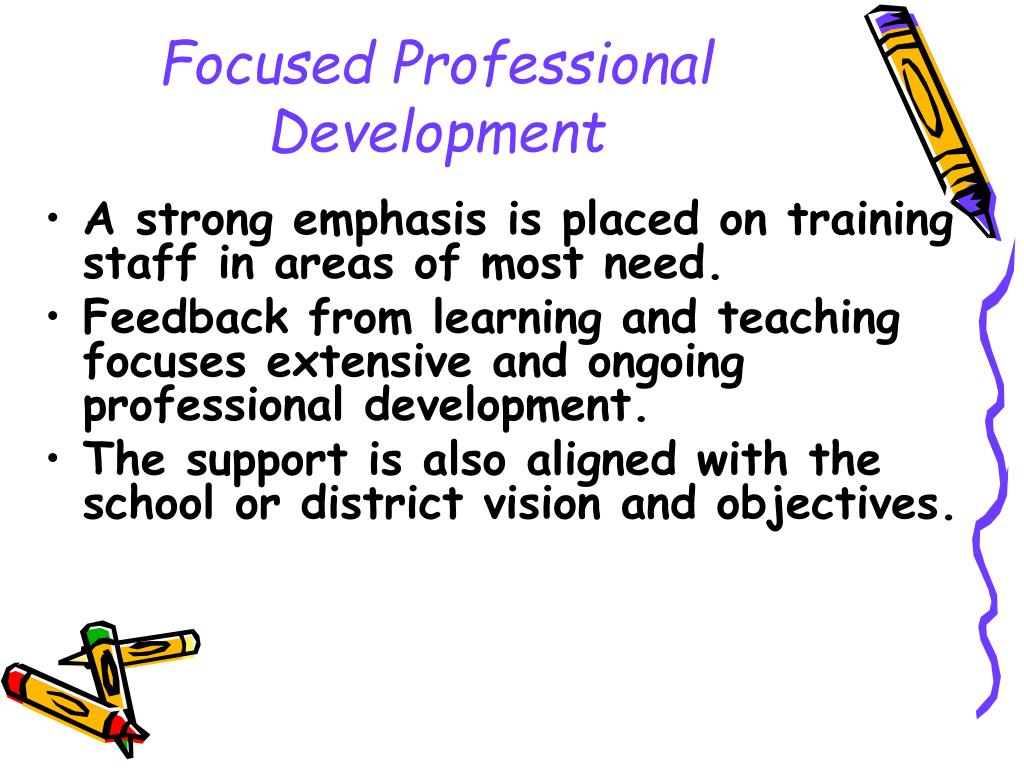 Focused Professional Development