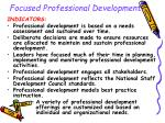 focused professional development21