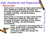 high standards and expectations7