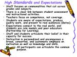 high standards and expectations8