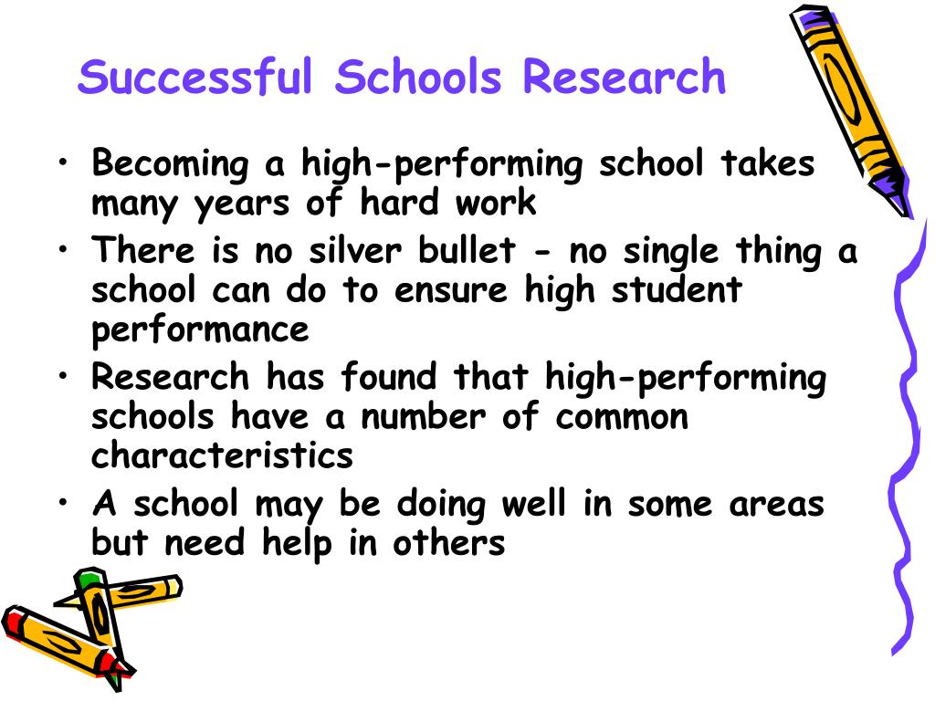 Successful Schools Research