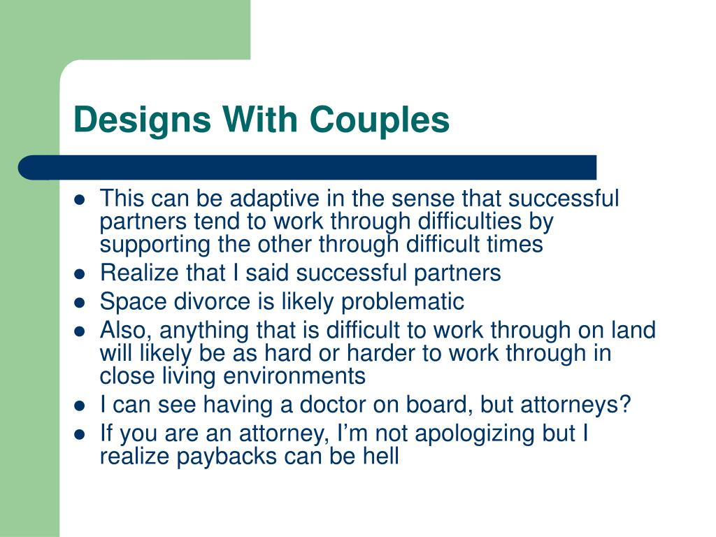Designs With Couples