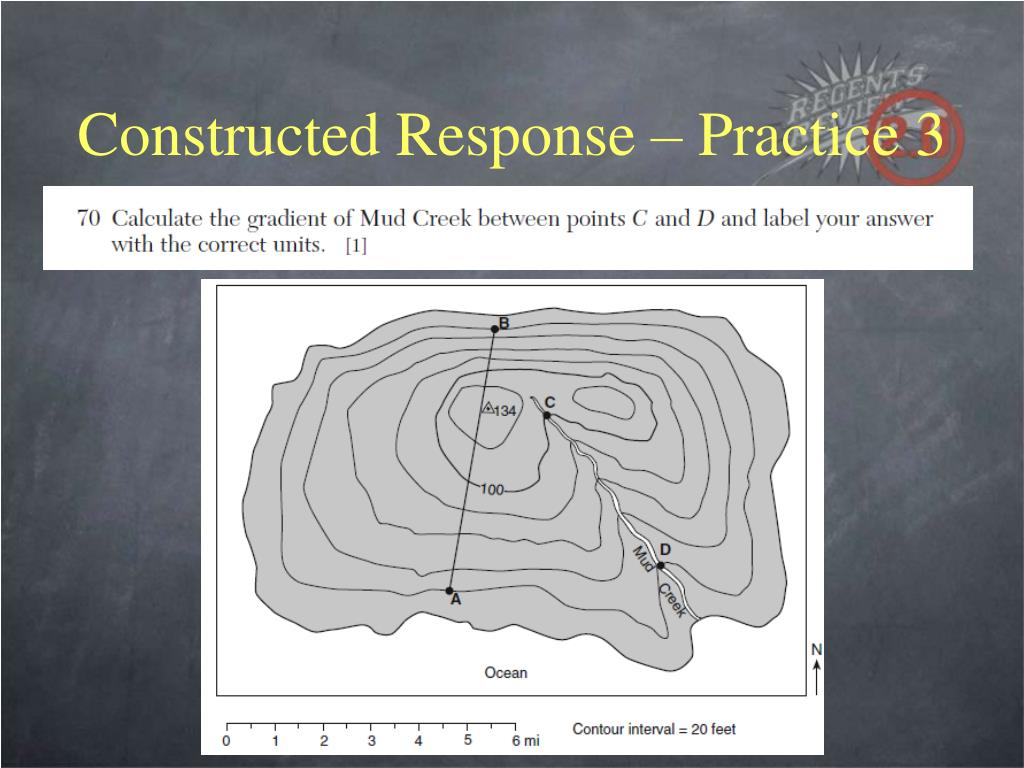 Constructed Response – Practice 3