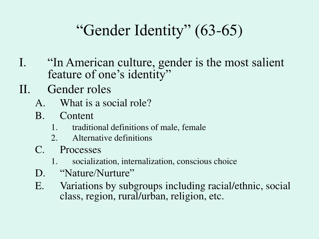 gender roles in european culture Complexity of gender roles, since they only reflect the institutional, cultural and social context where they were developed (smart and shipman 2004.