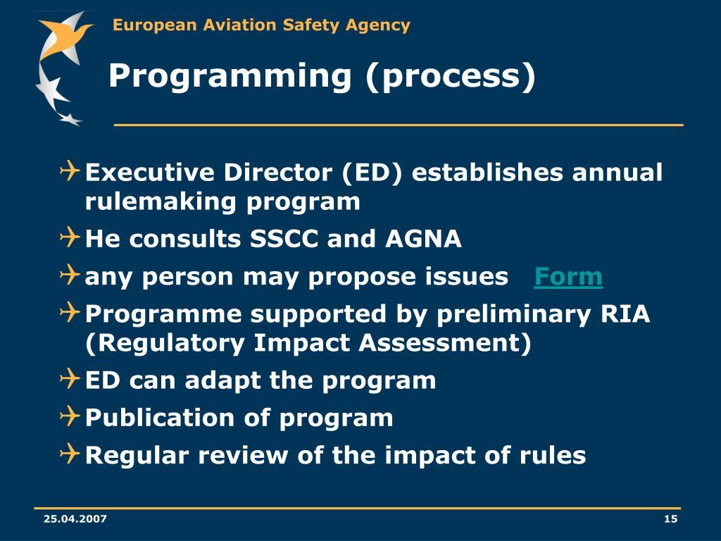 Programming (process)