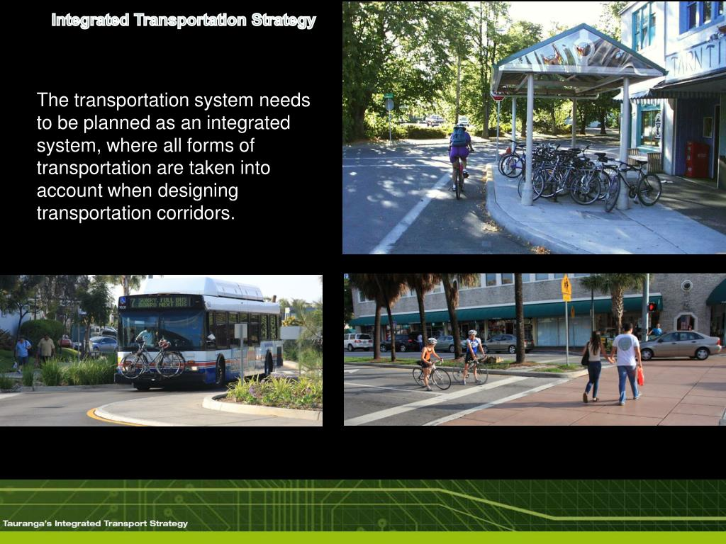 Integrated Transportation Strategy