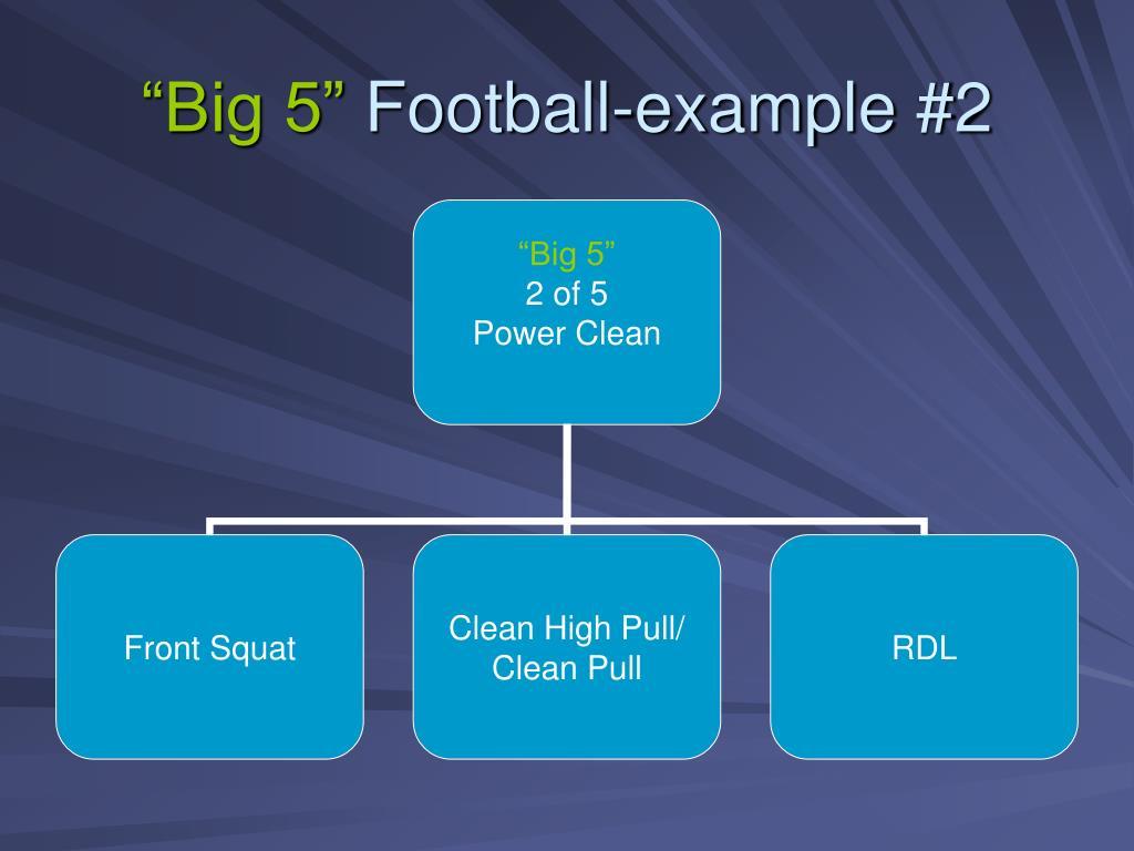 """""""Big 5"""""""