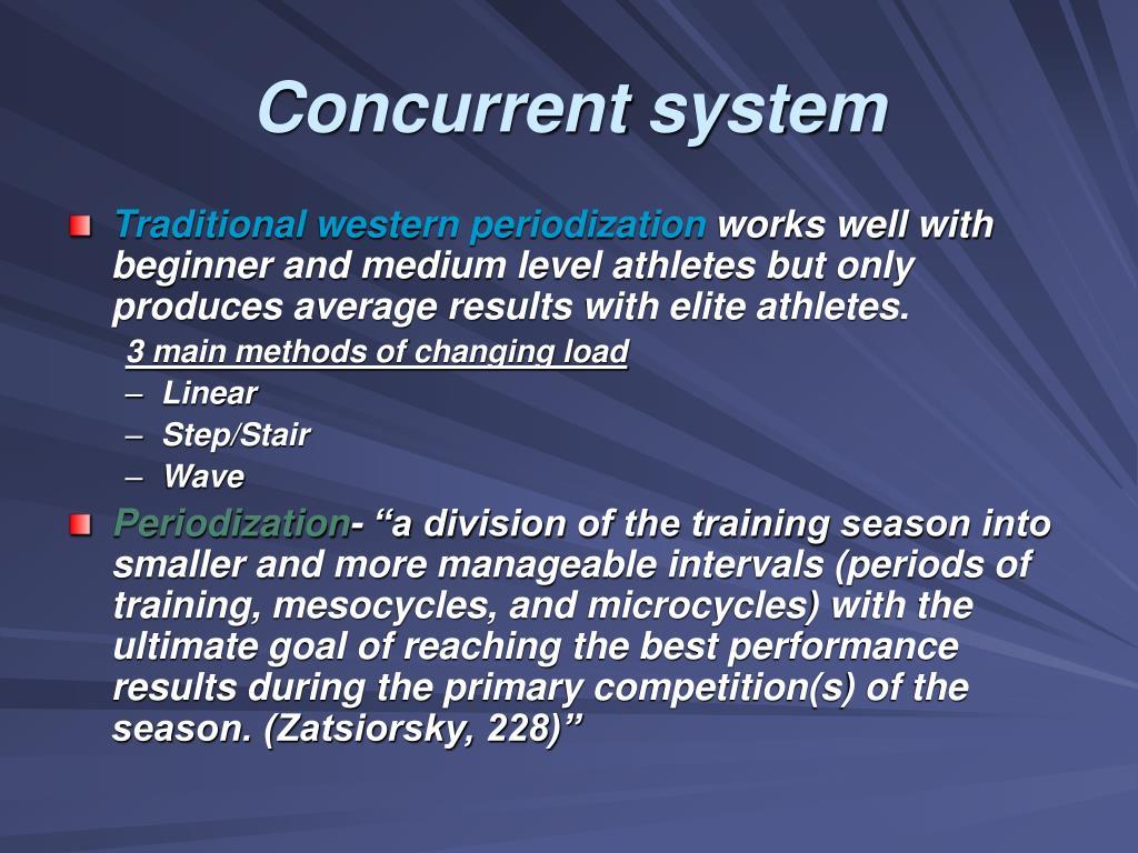 Concurrent system