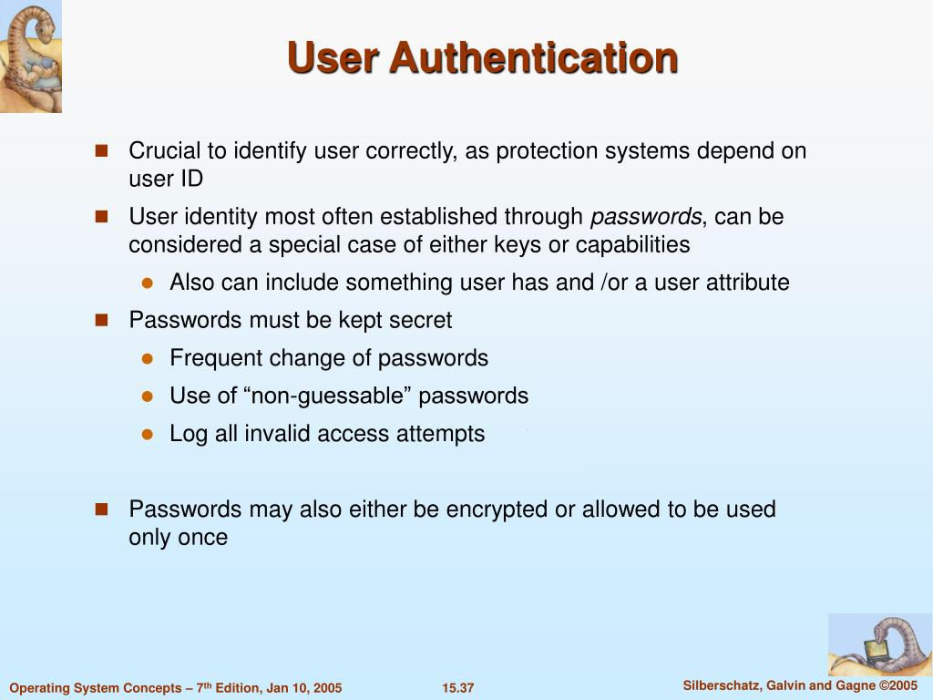 User Authentication