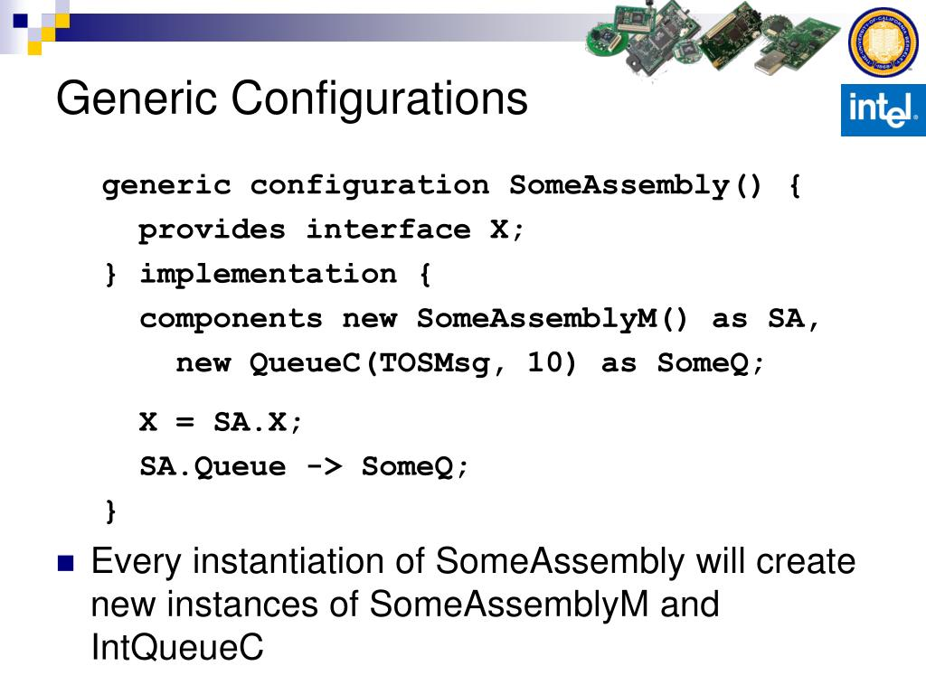 Generic Configurations