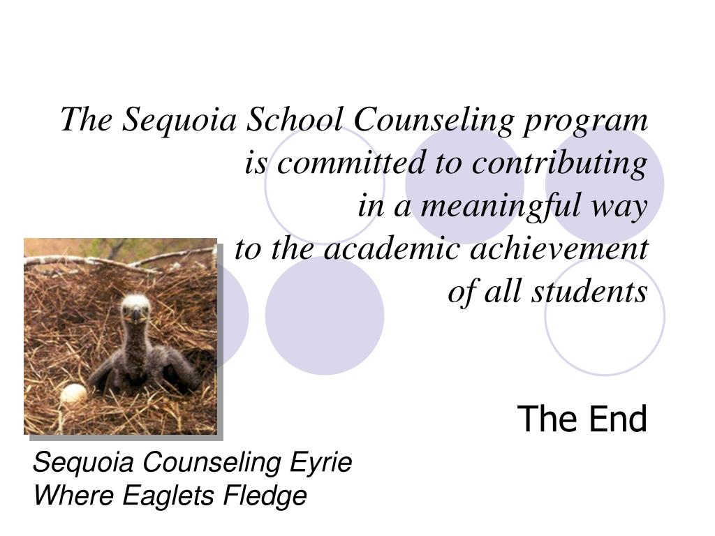 The Sequoia School Counseling program