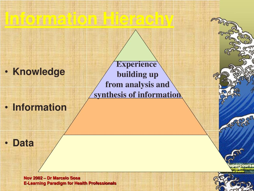 Information Hierachy
