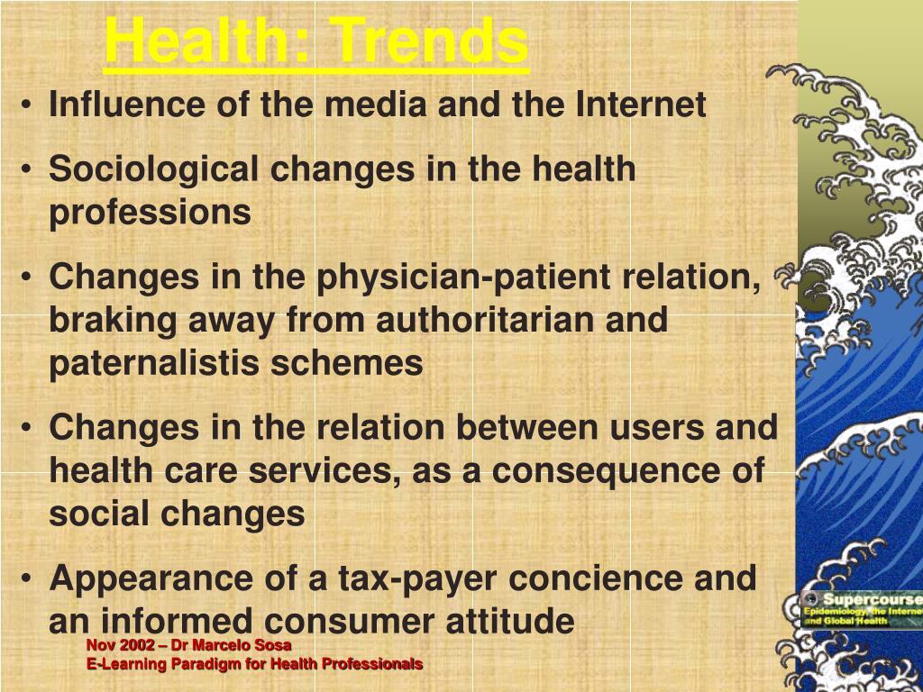 Health: Trends