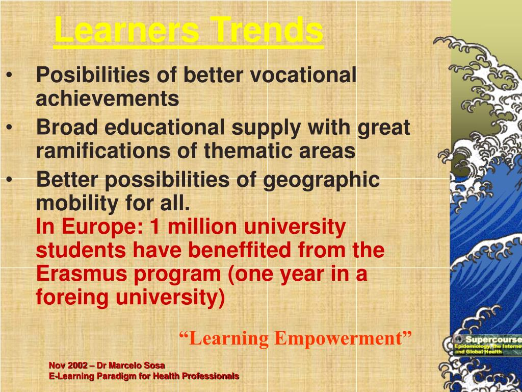 Learners Trends