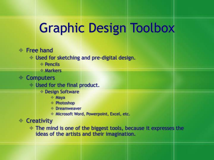 Graphic Design Toolbox