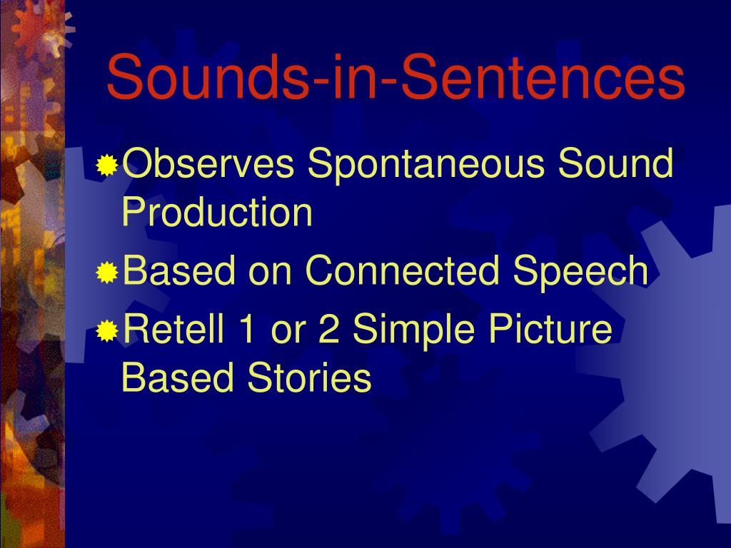 Sounds-in-Sentences