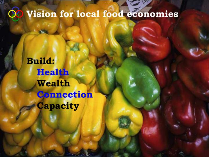 Vision for local food economies