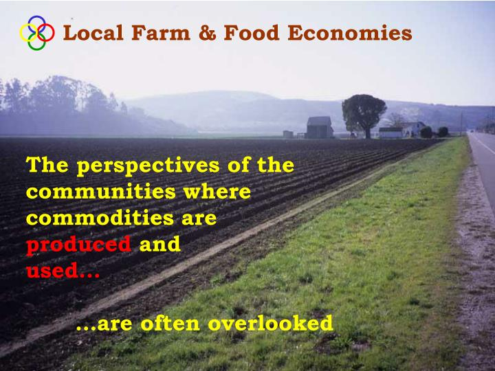 Local Farm & Food Economies