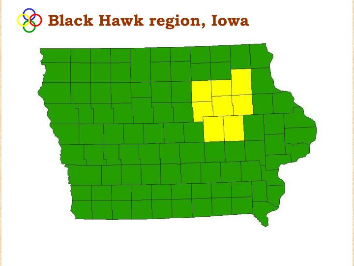 Black Hawk region, Iowa