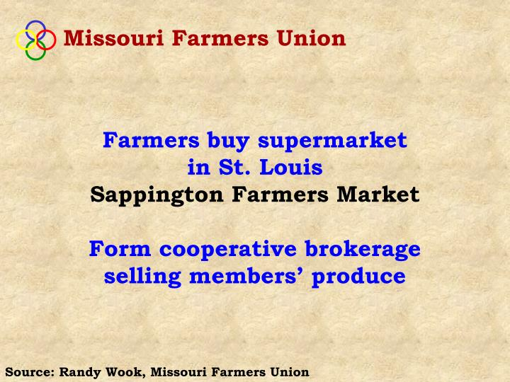 Missouri Farmers Union