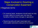 steps involved in granting a conservation easement17