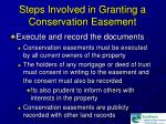 steps involved in granting a conservation easement19