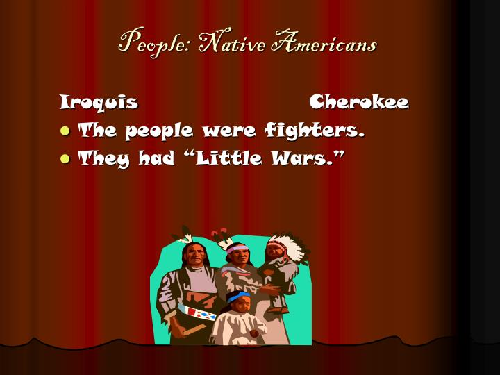 People native americans l.jpg