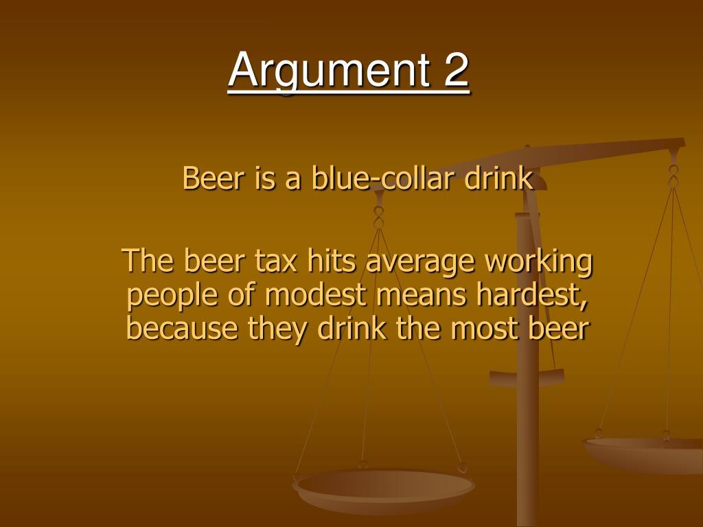 Argument 2