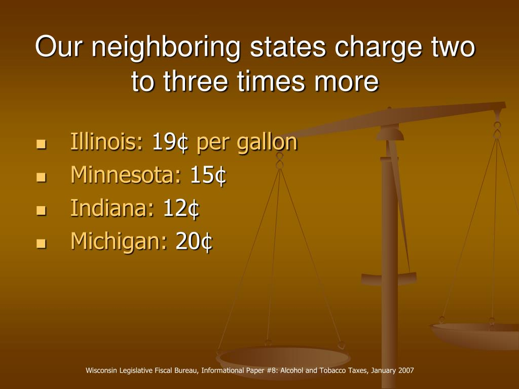 Our neighboring states charge two to three times more