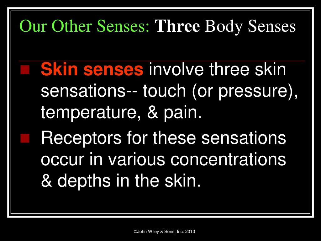 Skin senses