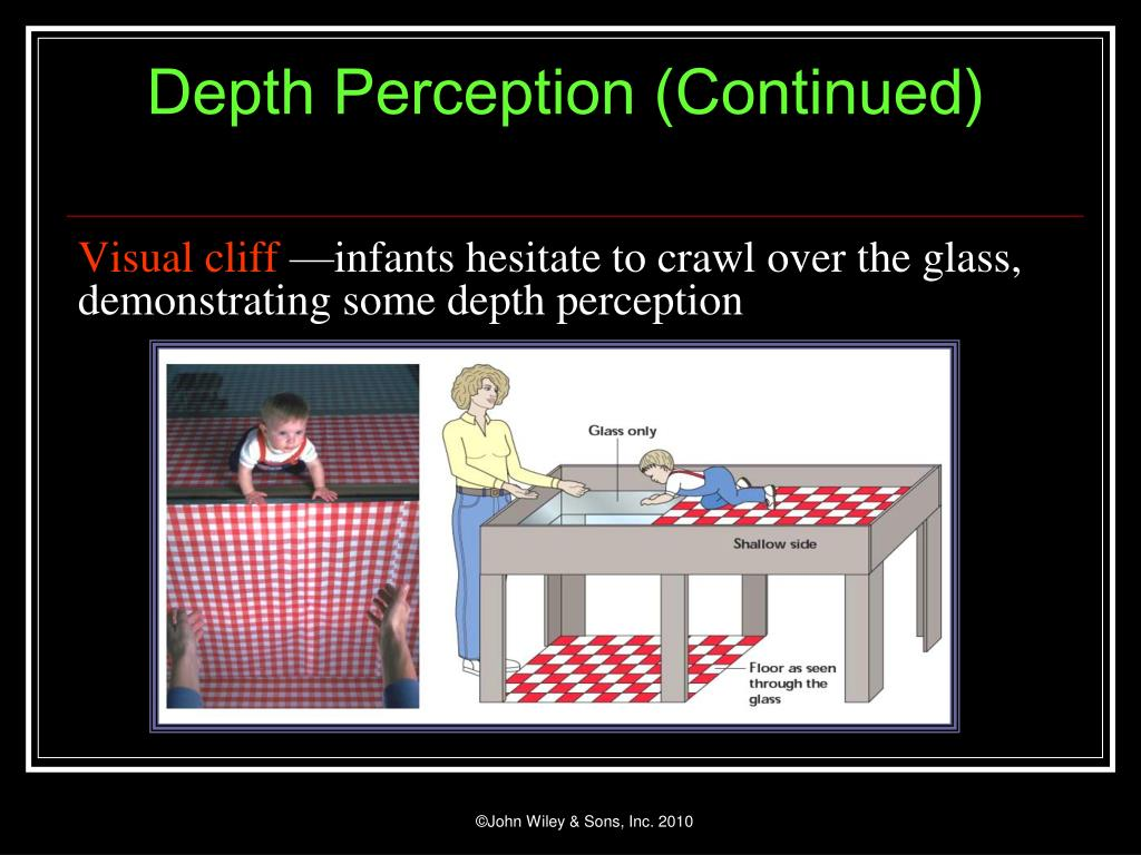 Depth Perception (Continued)