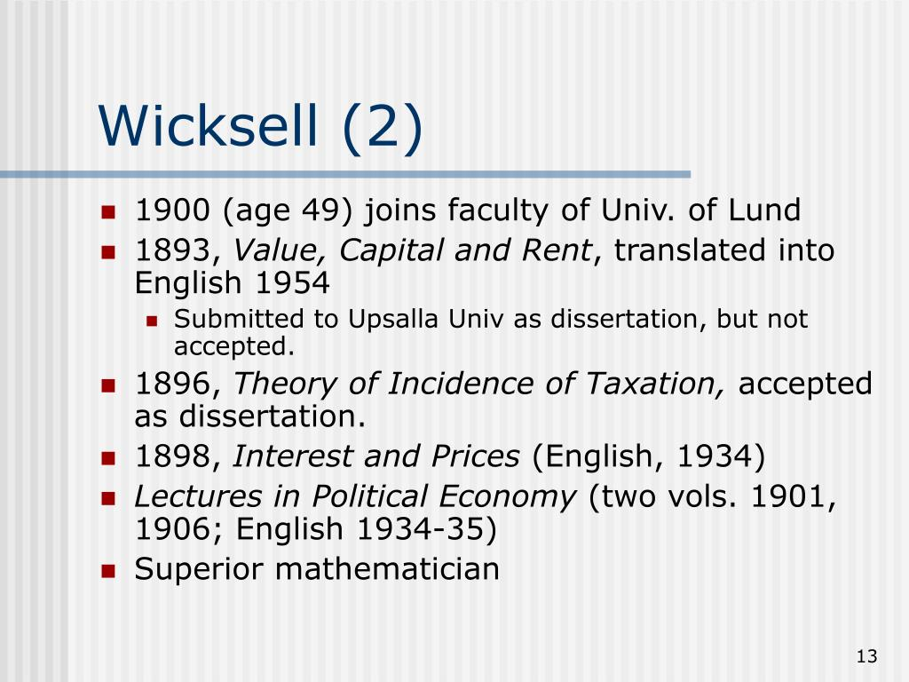 Wicksell (2)