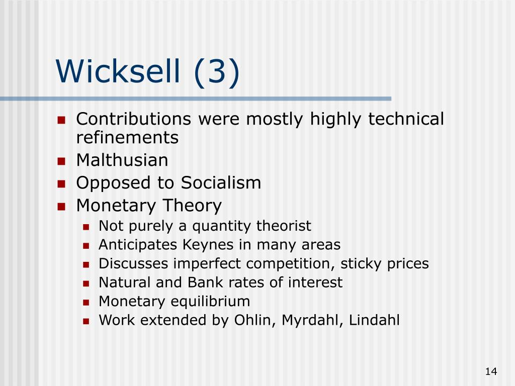 Wicksell (3)