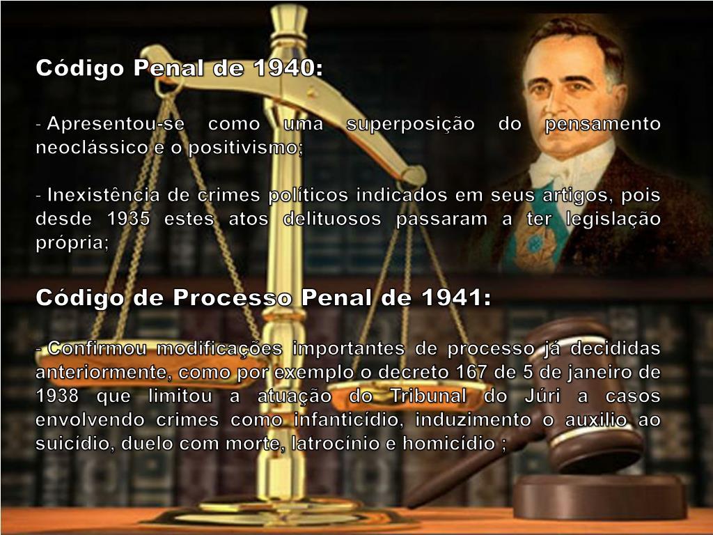 Código Penal de 1940: